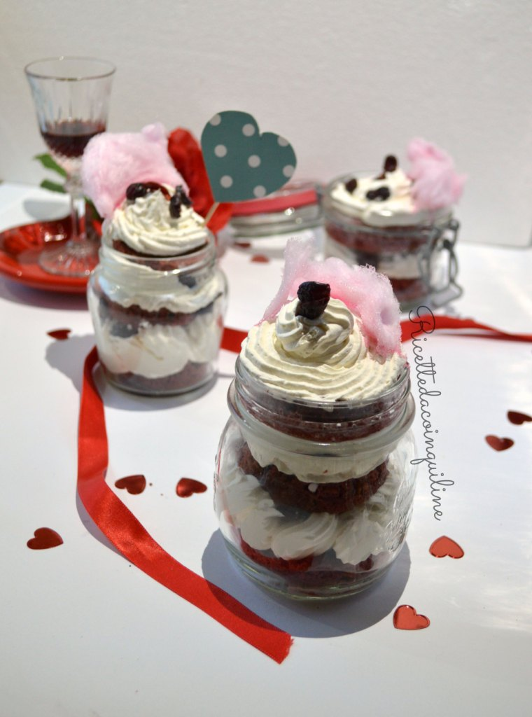 Valentine in a Jar (Red Velvet in barattolo)