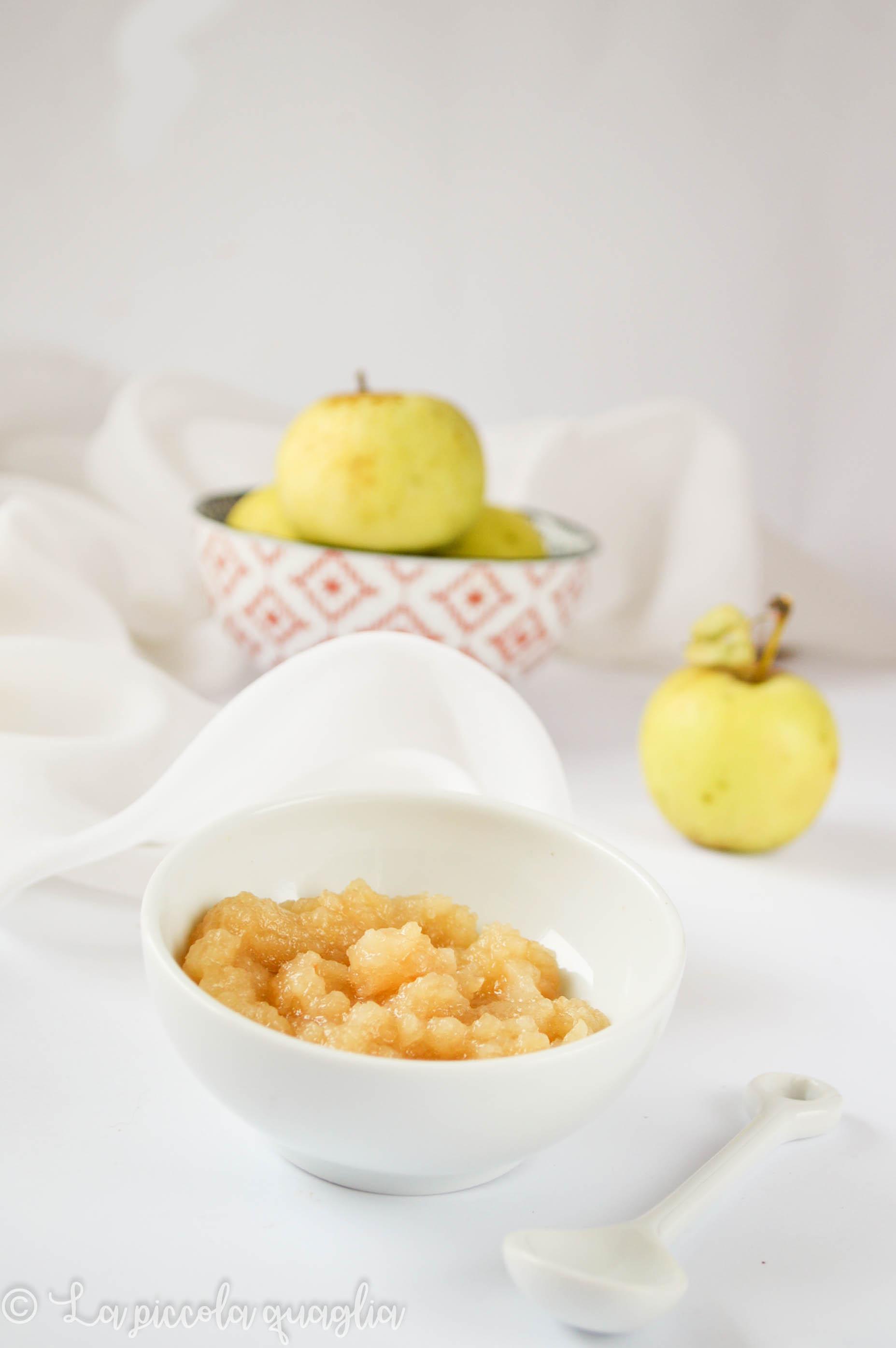 I sani venerdì: salsa di mele