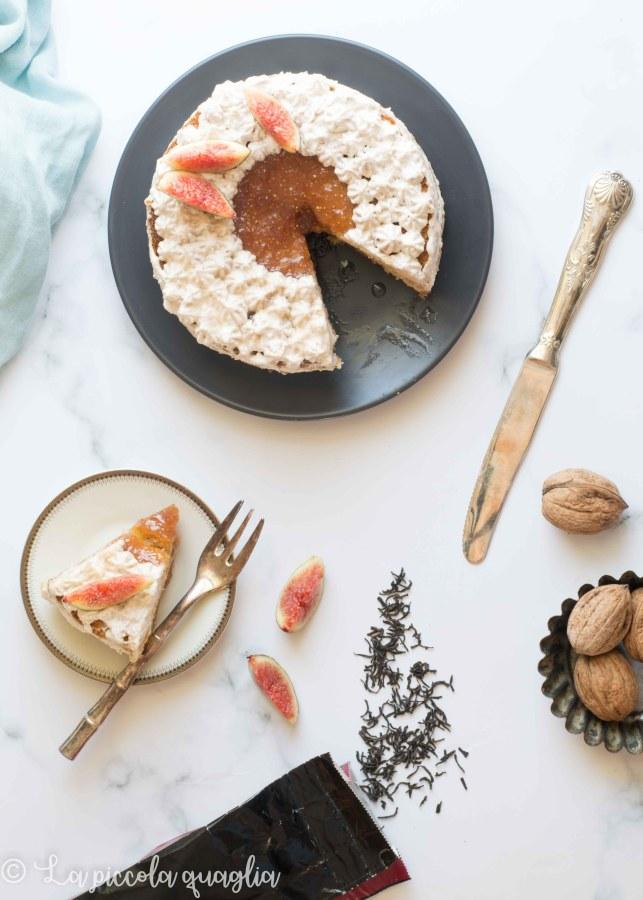 L'angolo del tè: torta ai fichi ed Earl Grey