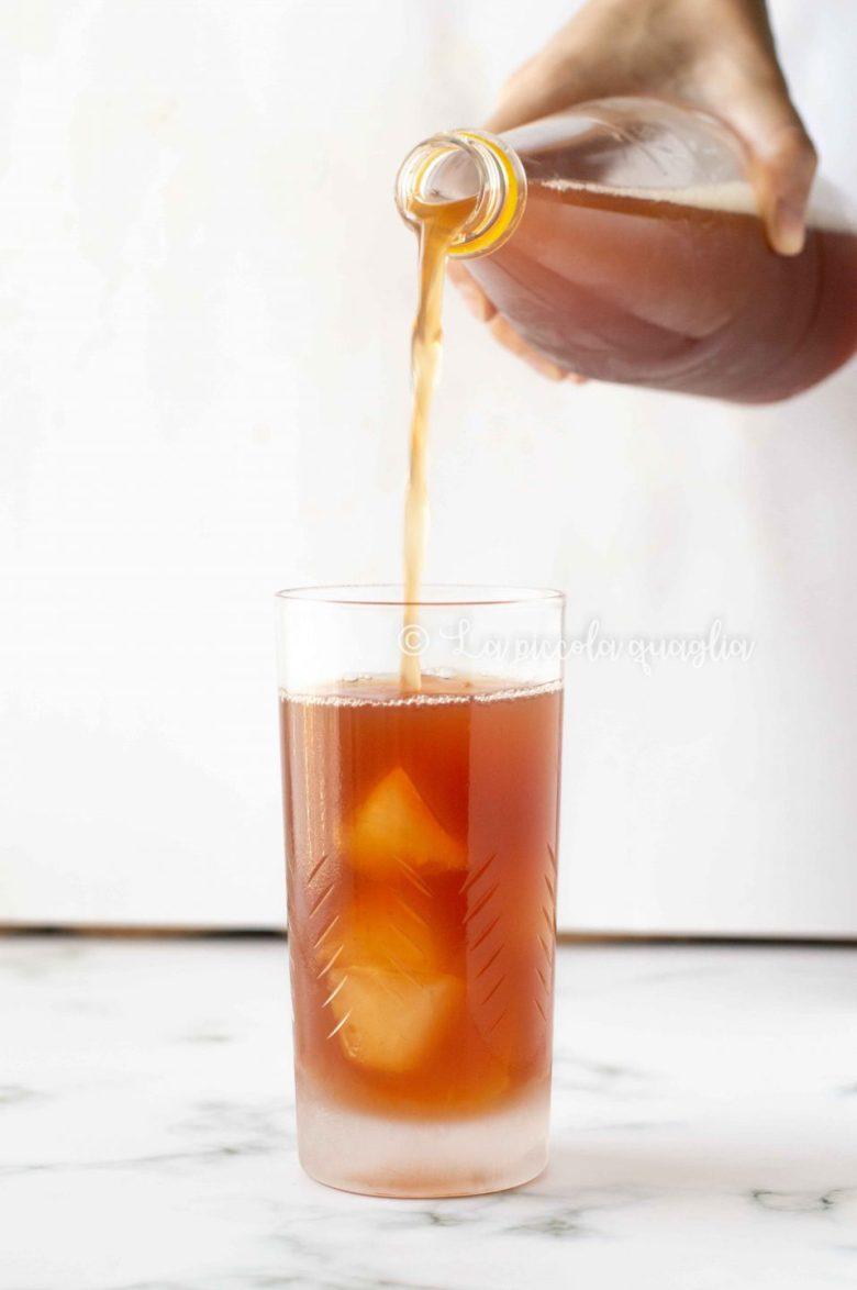 tè alla pesca