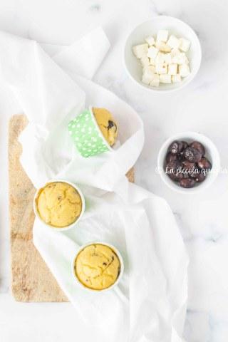 muffin feta e olive