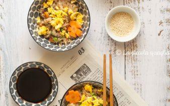 riso vegetariano