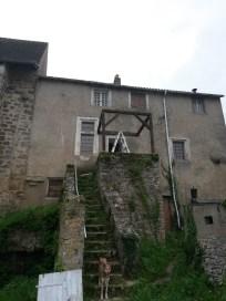 Auvent escalier 4