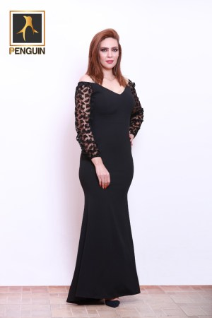 Code_[Maro701]_Black_soiree_classic_dress