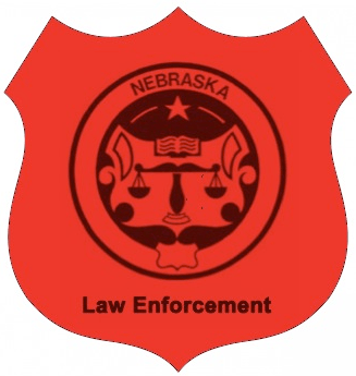 Nebraska Law Enforcement Logo by Lapin Law Offices