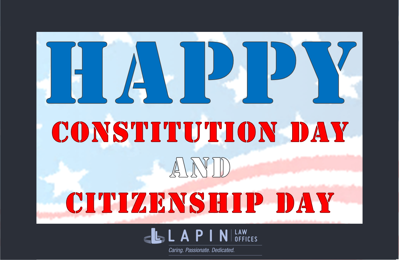 Happy Constitution Day and Citizenship Day