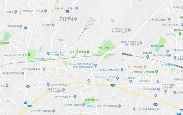 京成バラ園地図