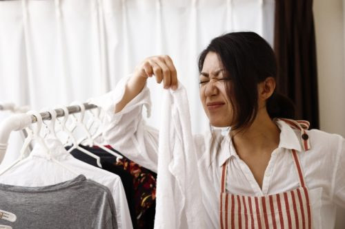 洗濯物匂い