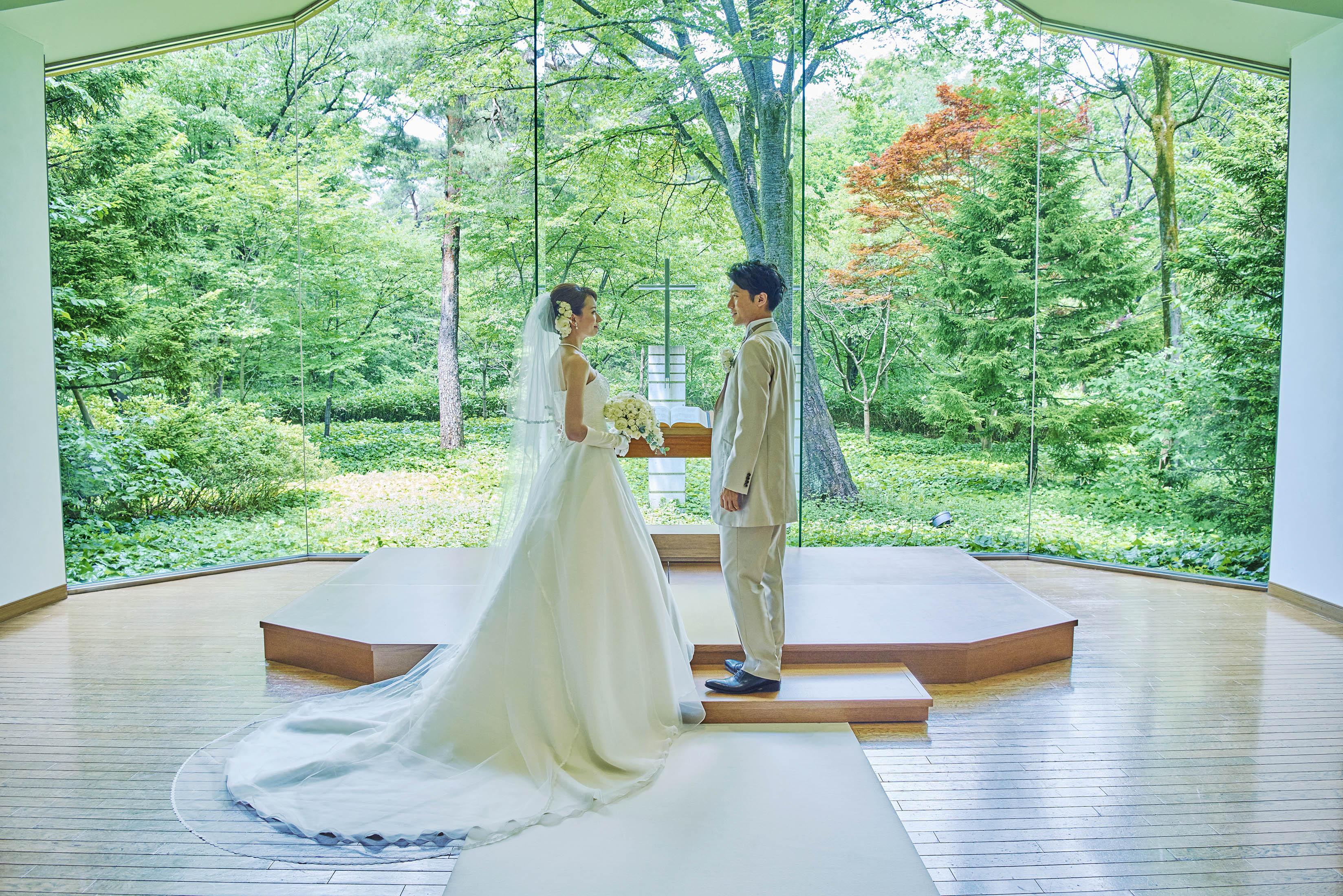 【東京】昭和館森林教堂婚紗拍攝