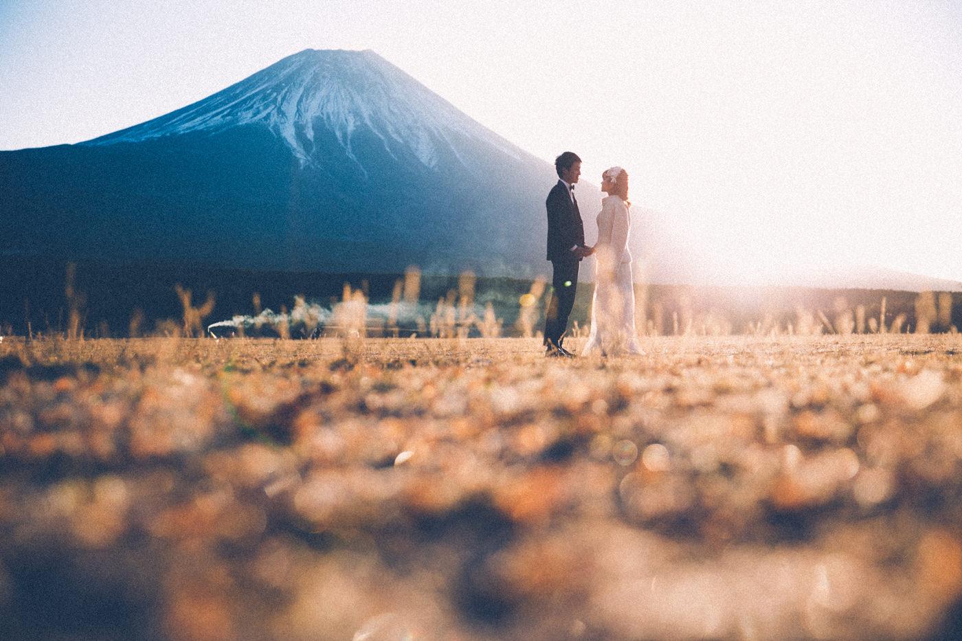 (日本語) 富士山フォトウェディング