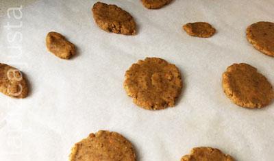 galletas listas para hornear