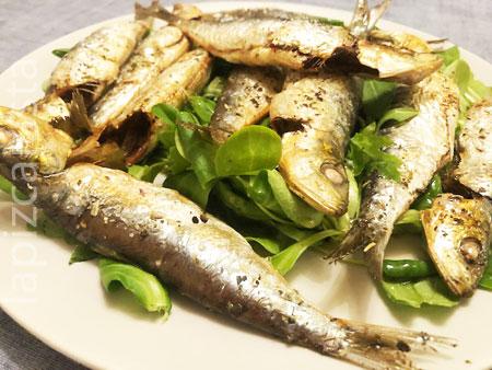 plato de sardinas al horno