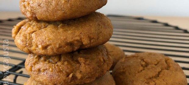 galletas de calabaza asada