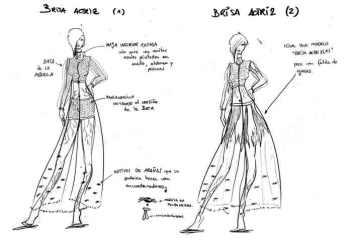 Diseño para Brisa (actriz y bailarina)