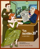 """Cartel de """"Los increíbles 20"""" Jaime Salom"""