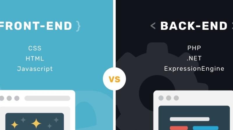 ¿Que es FrontEnd Y Backend en el diseño web?