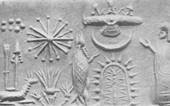 portal con oannes pleyades dioses en artefacto volador - Seres anfibios en las diferentes culturas alrededor del mundo