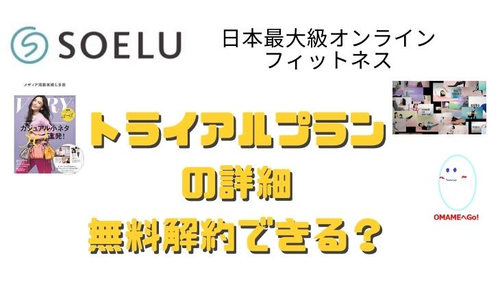 オンラインヨガ無料体験!SOELU(ソエル)の110円、無料体験、トライアルプランの内容、登録方法から途中解約できるのか?