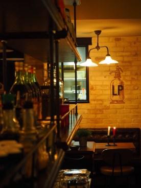Salle de restaurant, bar, La Place, Neuilly