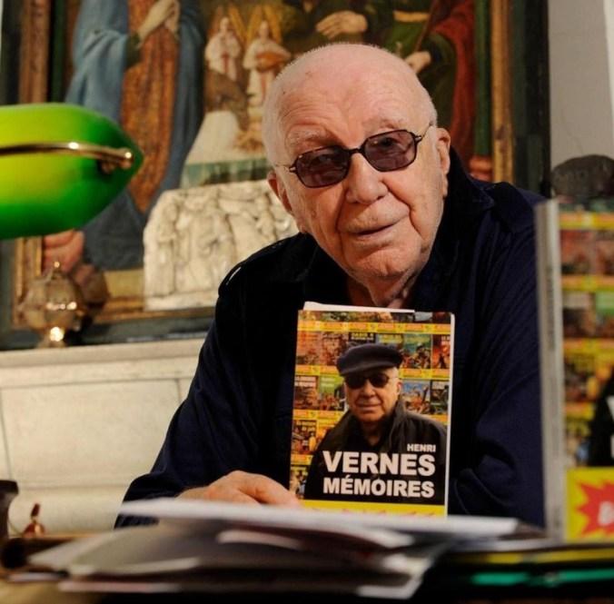 Henri Vernes, auteur des Bob Moranes