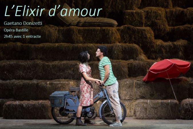 l'Elixir d'amour, de Gaetano Donizetti