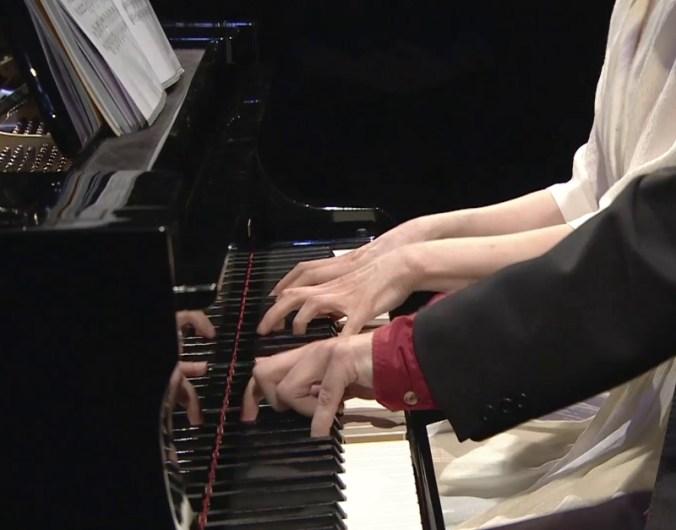Piano à 4 mains par Florent Nagel & Bona Song