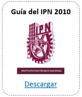 Guía del IPN 2010