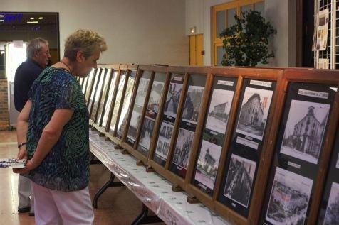 L'exposition sur le centenaire 1918-2018 a suscité beaucoup d'intérêt auprès des visiteurs.