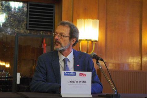 Jacques Weill, directeur-adjoint régional TER du Grand Est de la SNCF