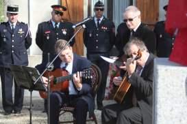 Concert pour l'inauguration.