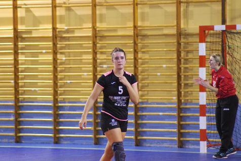 Retour au bercail pour la jeune championne Louise Jeanmaire qui a inscrit seize buts lors de ce match.