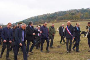 Visite de l'exploitation de Thierry Mourot.