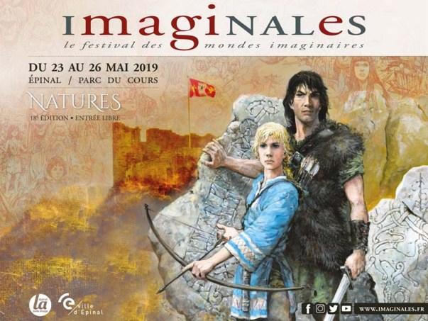 Les Imaginales, 2019 © Ville d'Épinal, dessin Rosinski.
