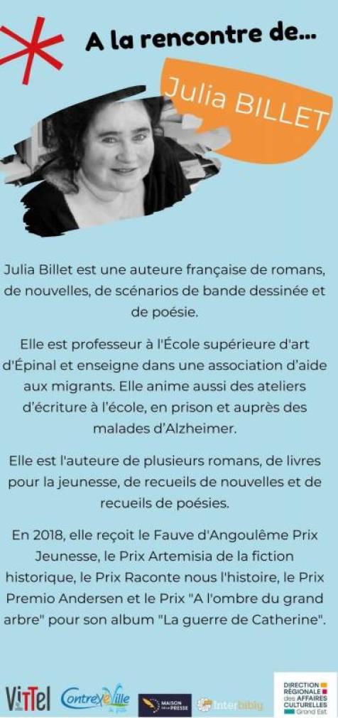 Julia Billet recto