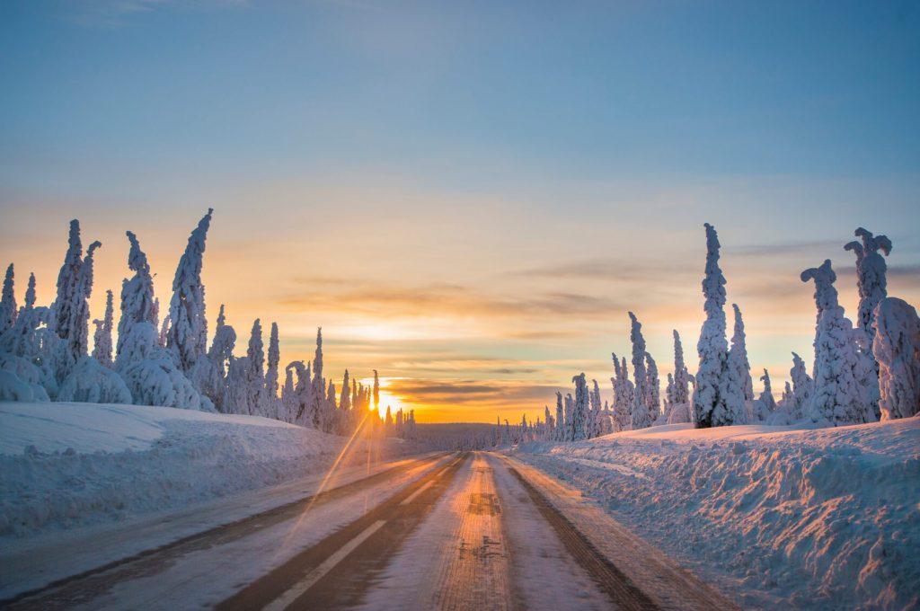 Lapland-landscape-evening