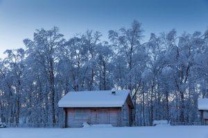 Lapland-log-cabin