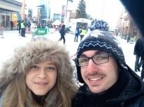 arctic rally selfie ;)