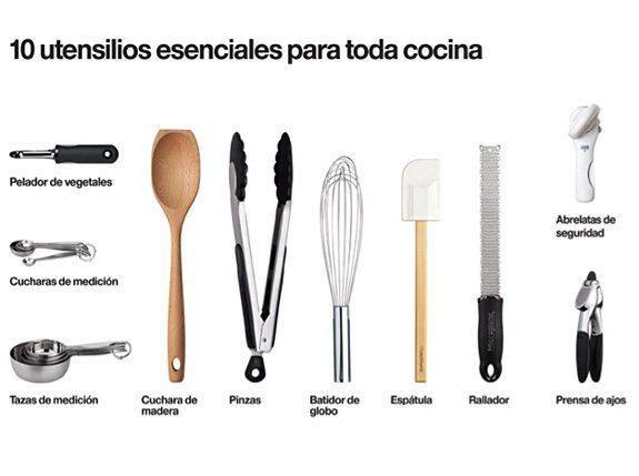 10 básicos para tu cocina