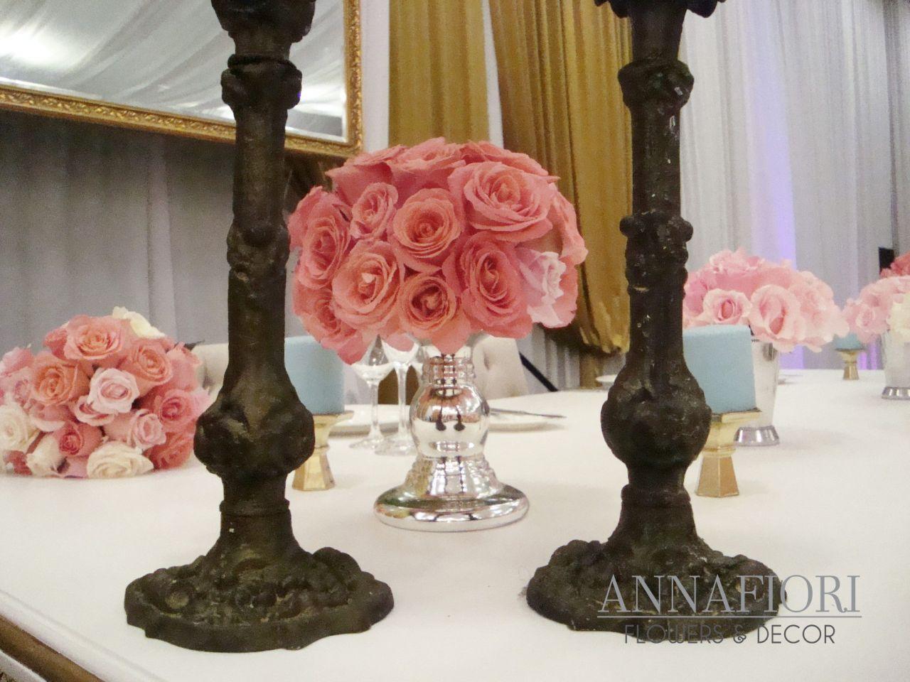 Annafiori, Flowers and Décor | Flores y arreglos para boda en México
