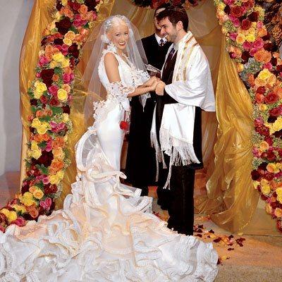 los peores vestidos de novia de las famosas