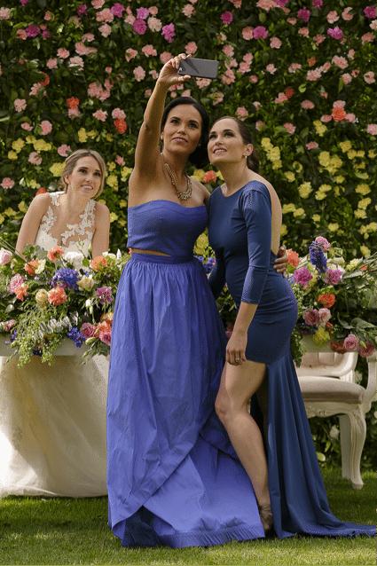 Vestidos para damas de boda mexicana