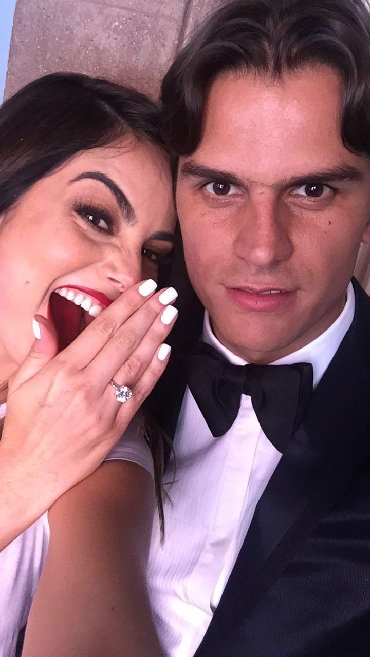 Matrimonio Ximena Navarrete : Ximena navarrete y juan carlos valladares el compromiso del año