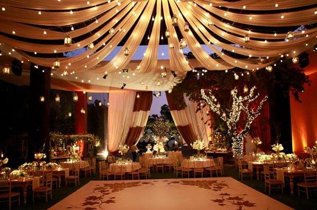 Decoraci n para bodas en navidad - Salones decorados para navidad ...