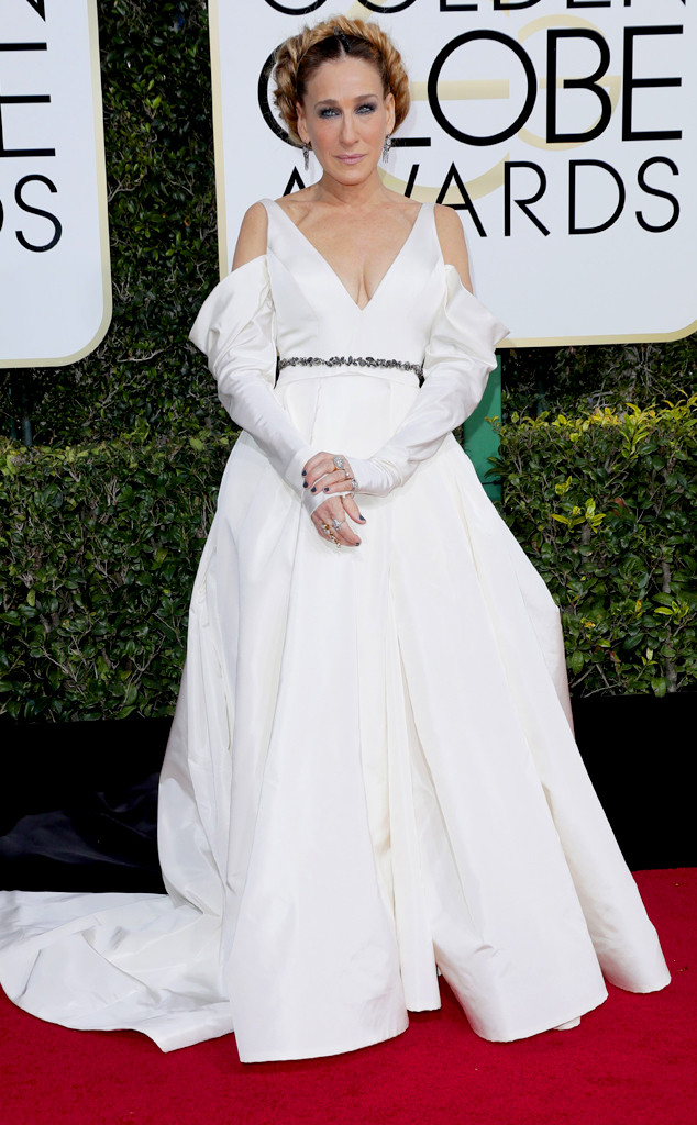 Tendencias en la alfombra roja The Golden Globes 2017
