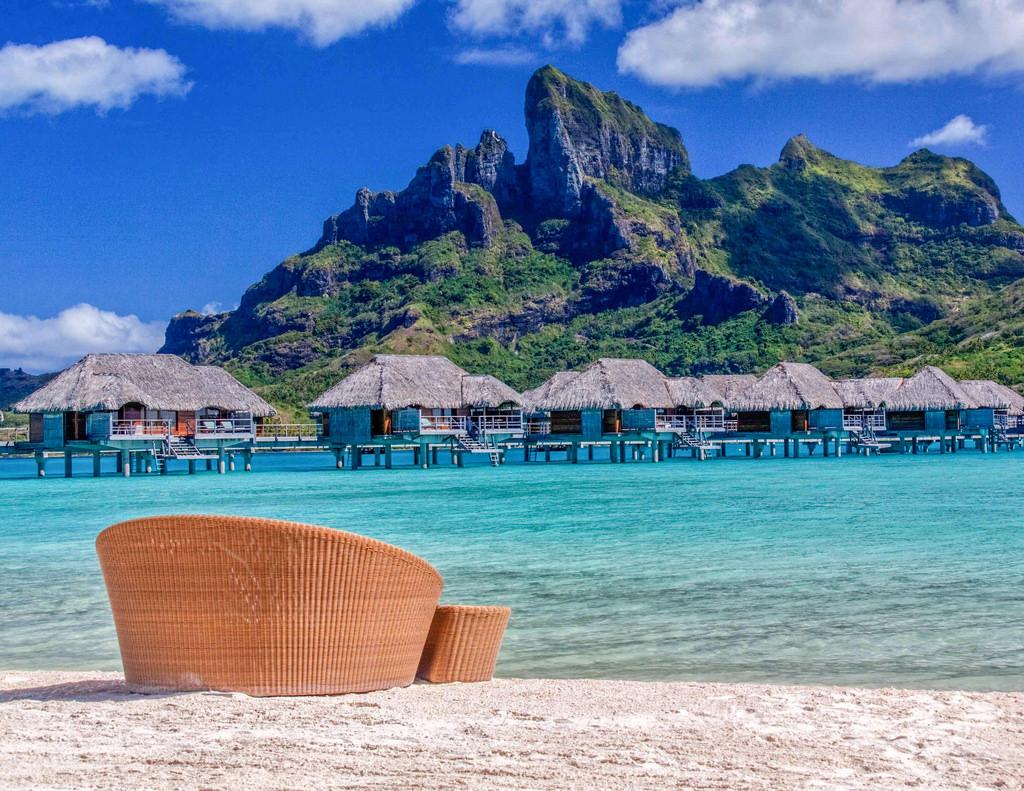 Las mejores cabañas sobre el mar para irte de luna de miel