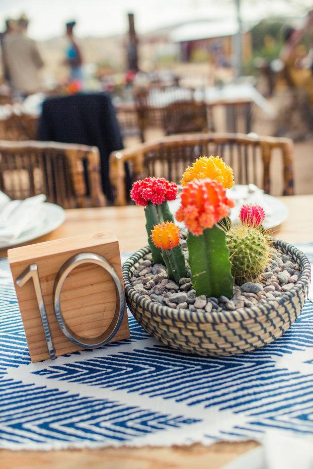 La tendencia en bodas del 2017 es reemplazar las flores ¡por cactus!