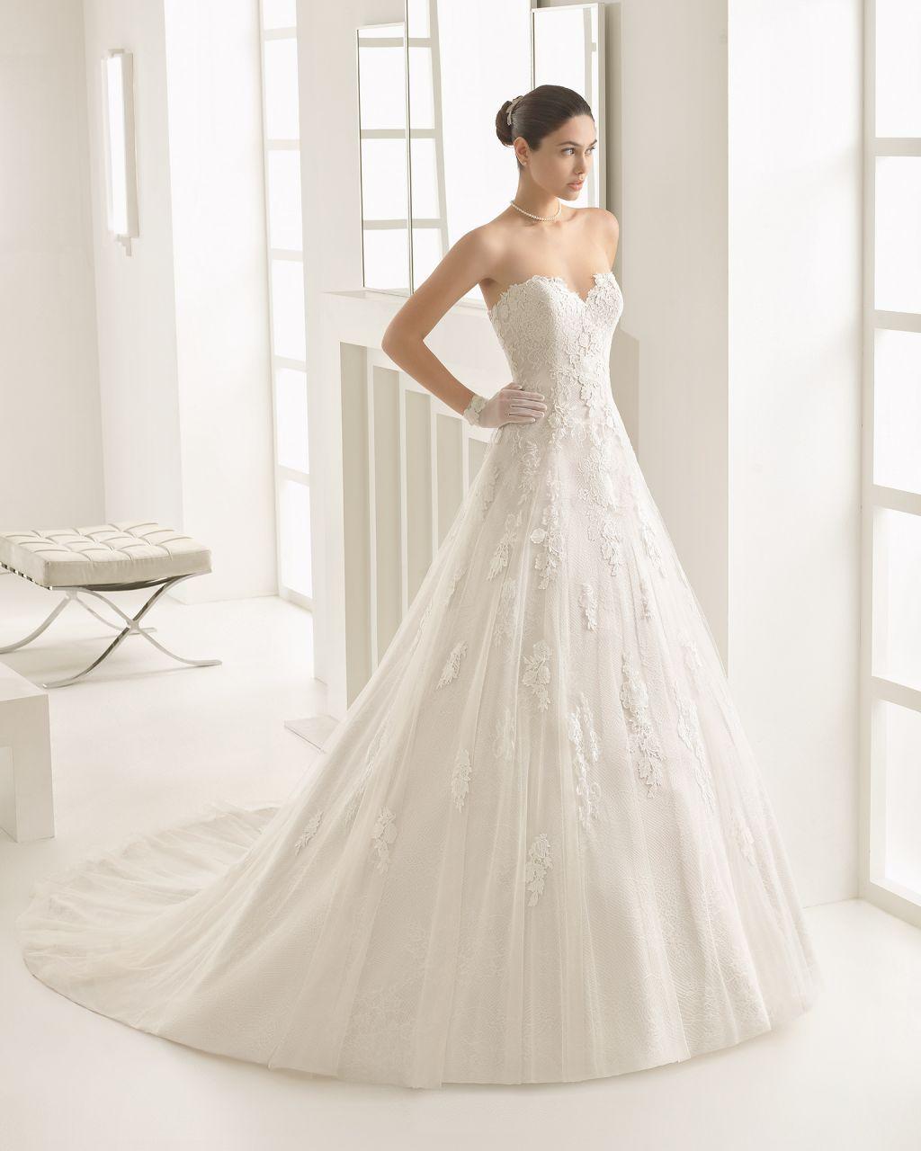 Vestido de novia corte a la cadera