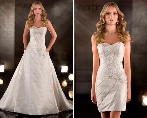 Que hacer con los vestidos de novia