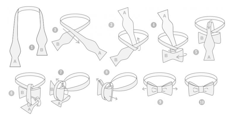nudo de corbata 4