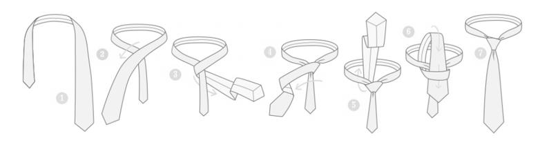 nudo de corbata 7